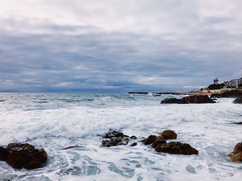 假期, 地平線, 多雲的天空, 岩石 的 免費圖庫相片