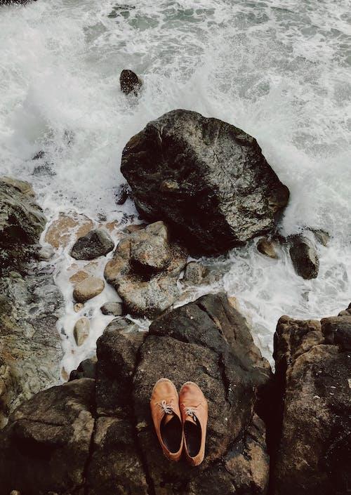 Ingyenes stockfotó cipő, lábviselet, nagy látószögű felvétel, Portugália témában