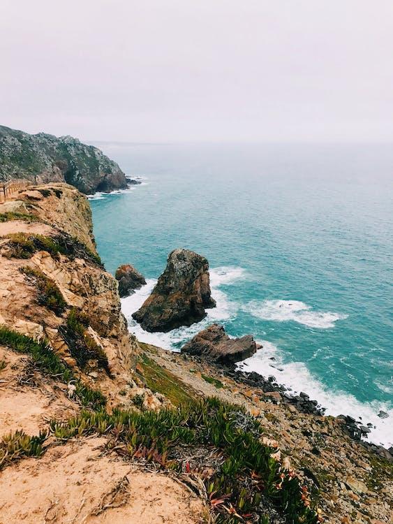 apă, cer, coastă