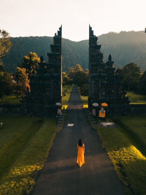 Fotobanka sbezplatnými fotkami na tému architektonický dizajn, architektúra, asfalt, Bali