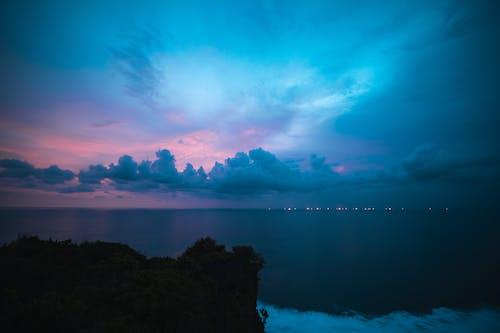 Fotobanka sbezplatnými fotkami na tému Bali, pláž, pohľad, západ slnka