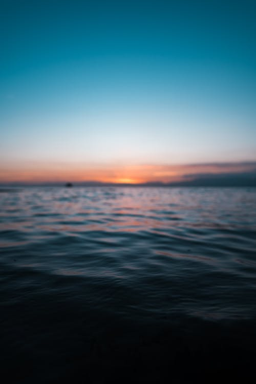 Fotobanka sbezplatnými fotkami na tému dosvit, exteriéry, hĺbka ostrosti, horizont