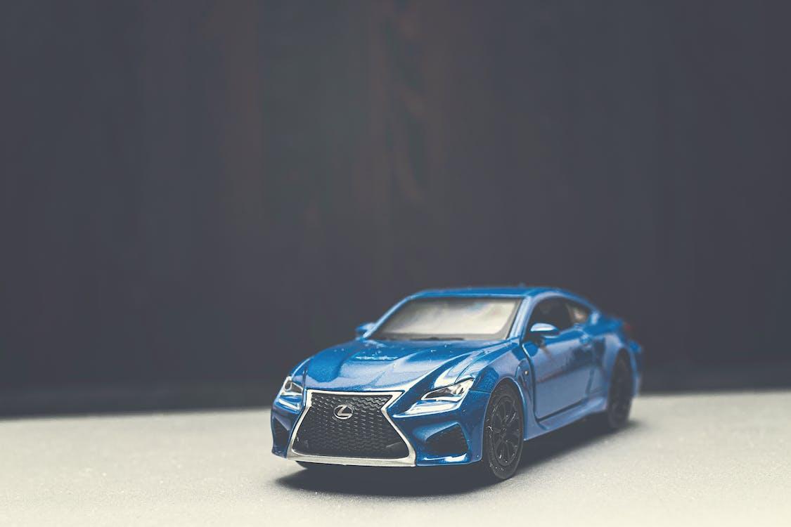 automòbil, blau, car