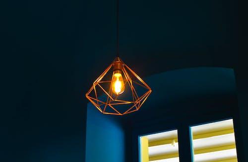 คลังภาพถ่ายฟรี ของ สว่าง, ส่องสว่าง, แขวน, โคมไฟ