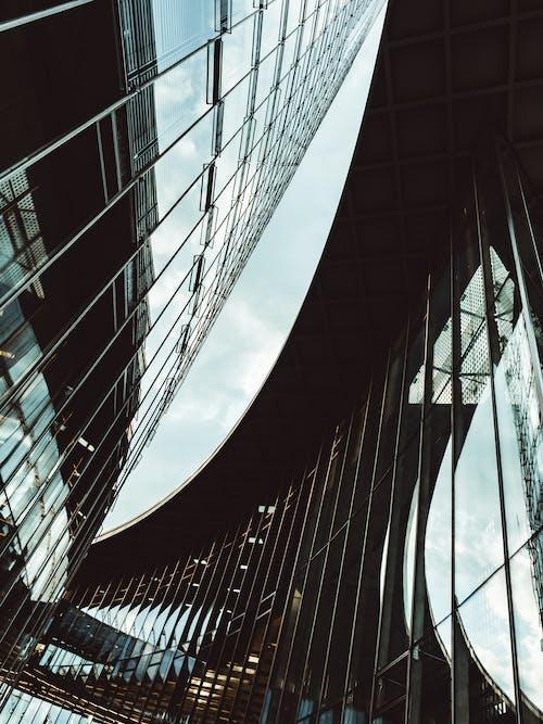Kostenloses Stock Foto zu architektonisches detail, architektur, architekturdesign, aufnahme von unten