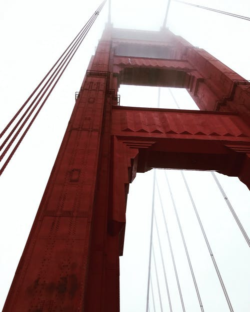 Free stock photo of california, golden gate bridge, morning
