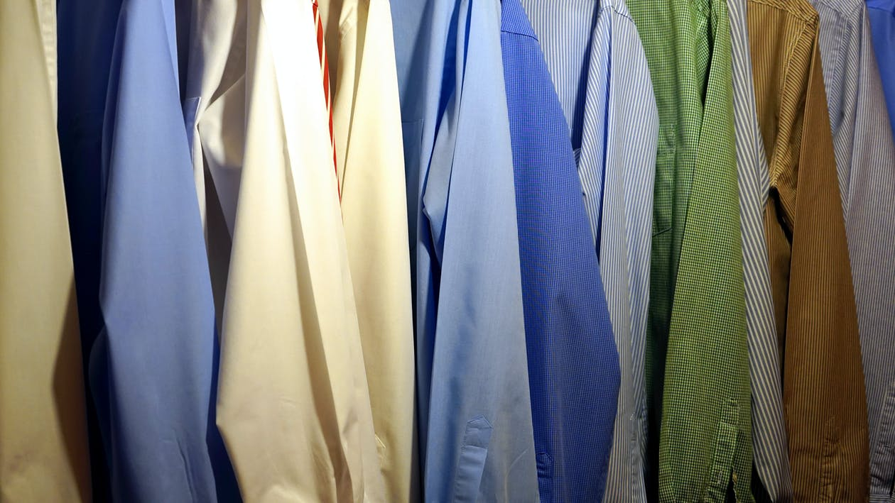 Full Frame Shot of Multi Colored Clothes Hanging