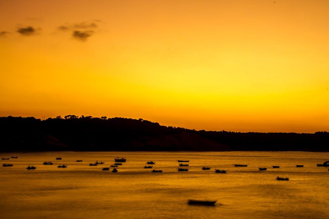 δύση του ηλίου, ηλιοβασίλεμα, ηλιοβασίλεμα παραλία