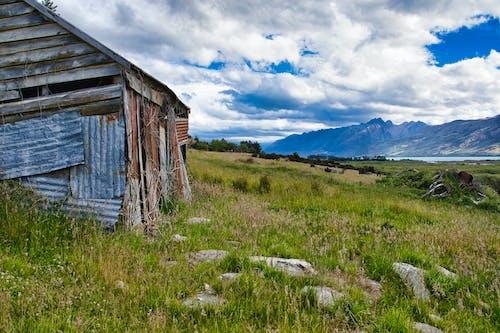 Gratis stockfoto met achterstallig, bergen, grasland, rivier