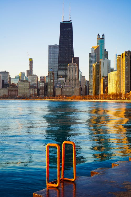 Gratis stockfoto met amerika, architectuur, binnenstad, downtown chicago