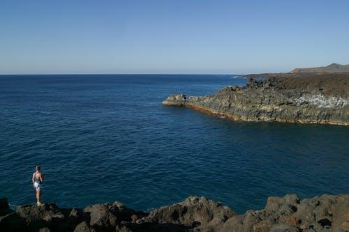 Foto d'estoc gratuïta de mar, natura, oceà, penya-segat