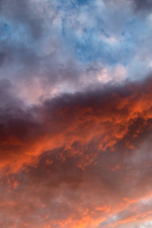 Základová fotografie zdarma na téma dramatický, mraky, obloha, rozbřesk