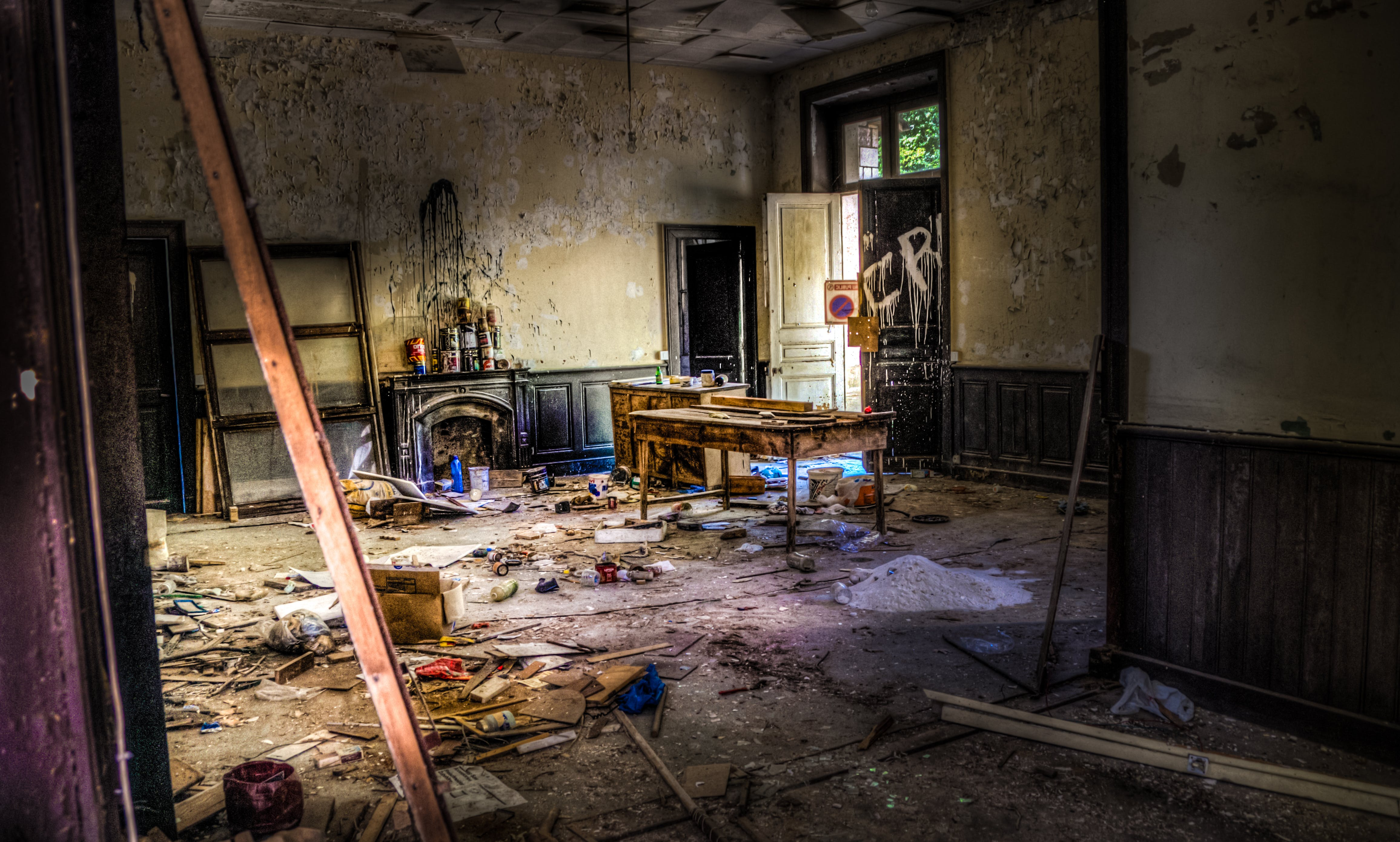 Interior of Abandoned Home