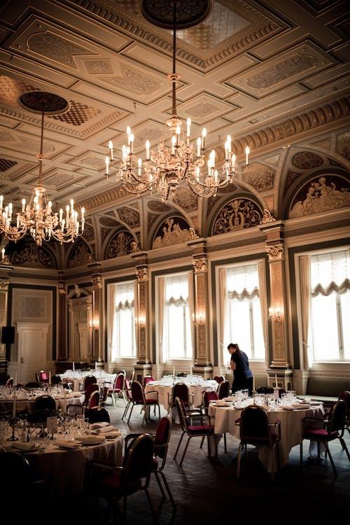 Interior of a Classic Restaurant