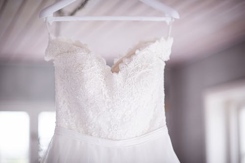 Photo of  Hanged White  Embroidered Cami Dress
