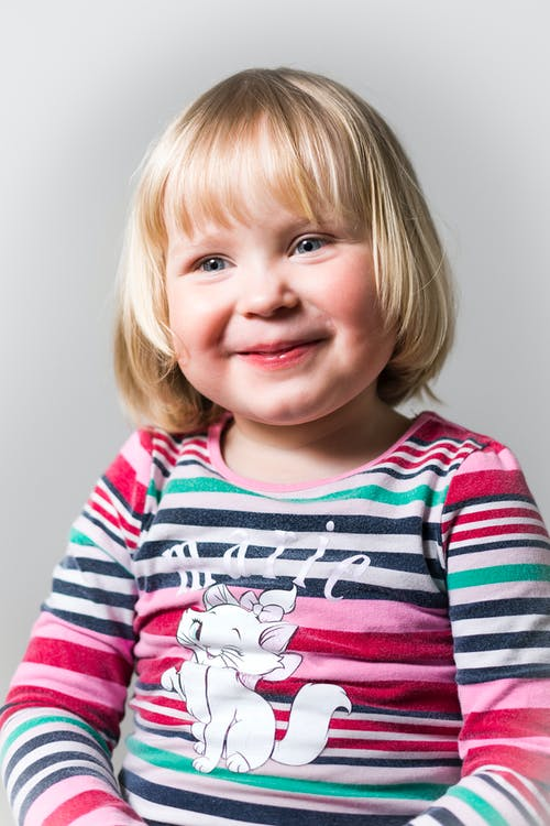 Portrait Photography of Blonde-haired Girl