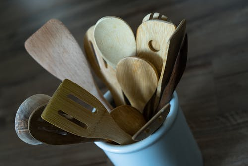Free stock photo of kitchen, kitchen utensils, spatula, spoon