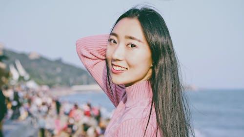 Fotos de stock gratuitas de asiática, bonita, cara, enfoque selectivo