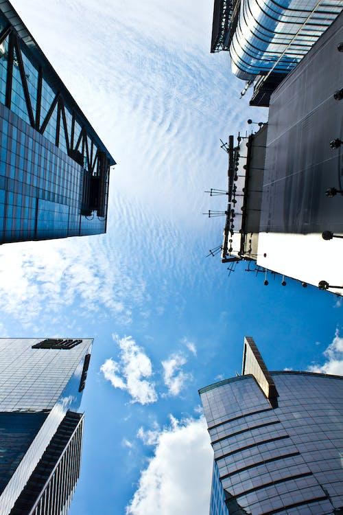 Free stock photo of blue sky, buildings, sky, skyscraper