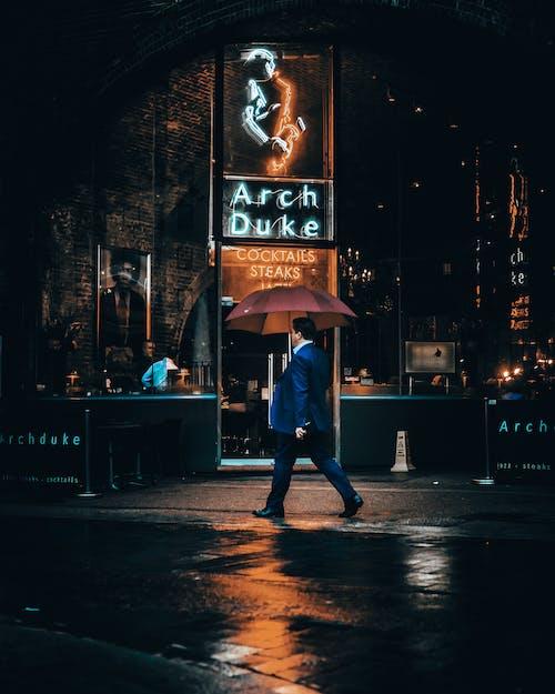 Gratis lagerfoto af aften, gade, London, mand