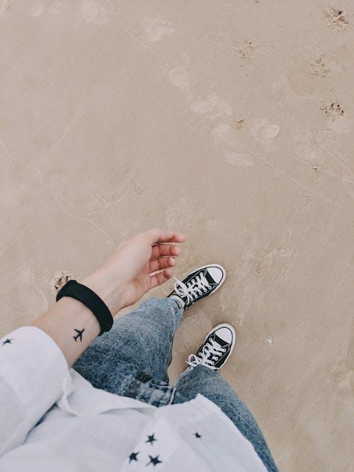 Foto stok gratis denim, fashion, jeans, keluarga