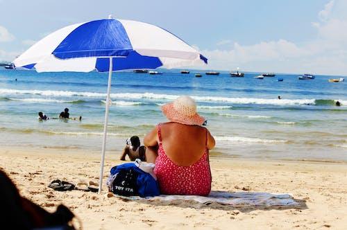 假期, 海, 海灘, 藍色的水 的 免費圖庫相片