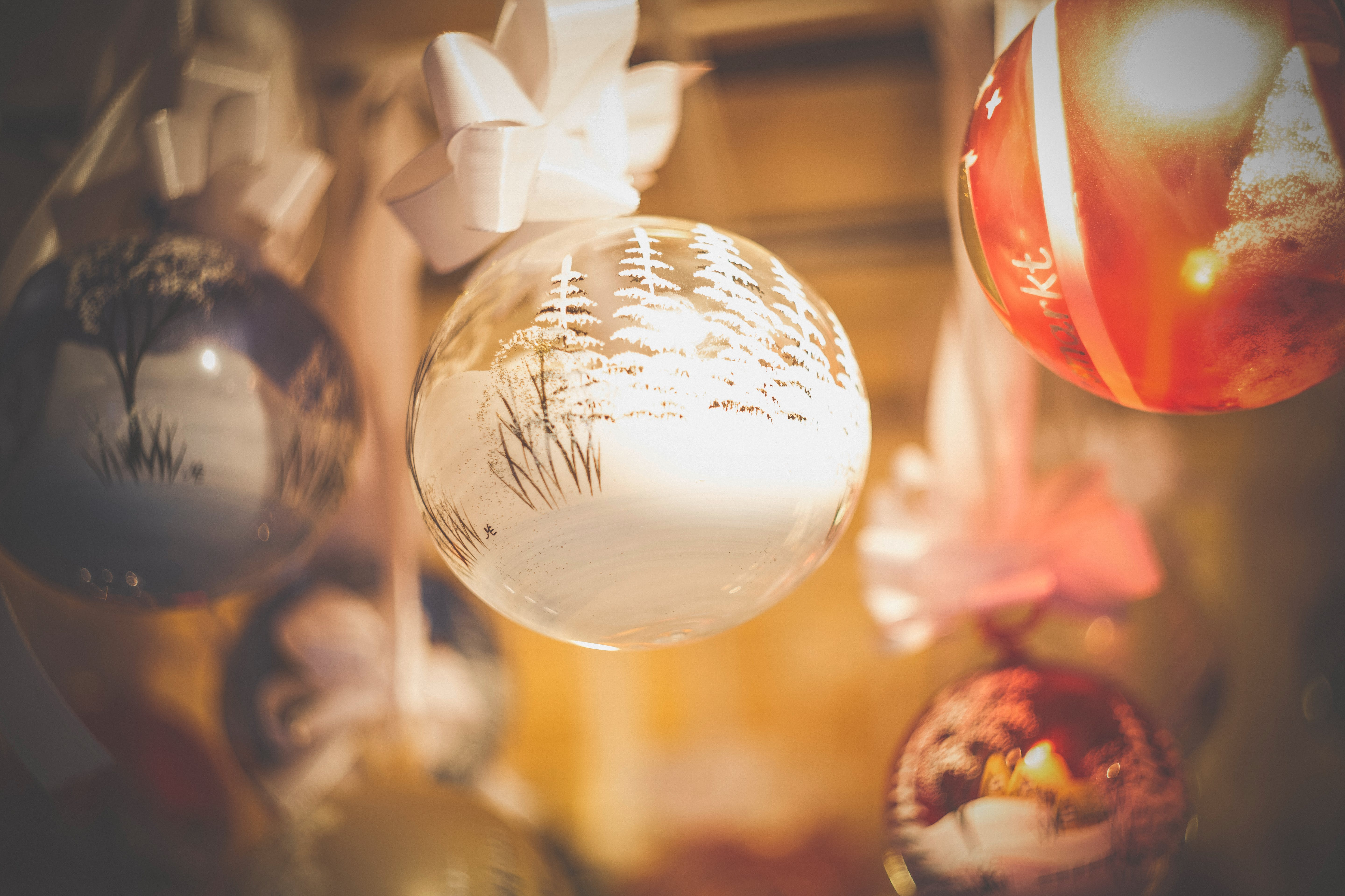 Close-up of Christmas Decoration