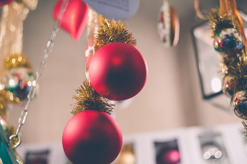 Free stock photo of celebration, christmas, christmas balls, Christmas ornaments