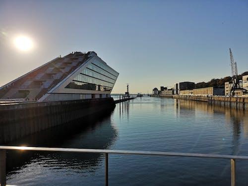 Gratis stockfoto met architectuur, dockland, docklands, duitsland