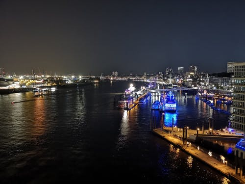 Gratis stockfoto met boten, duitsland, elbphilharmony, Hamburg