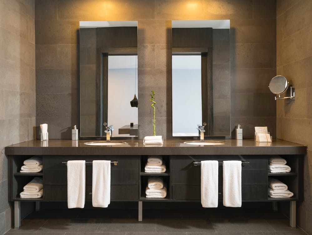 Photo of Mirrors in Bathroom