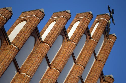 Fotobanka sbezplatnými fotkami na tému architektúra, červené tehly, dóm, fasáda