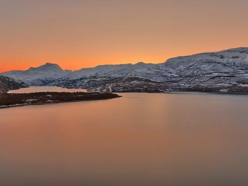 Photos gratuites de abisko, aube, coucher de soleil, crépuscule