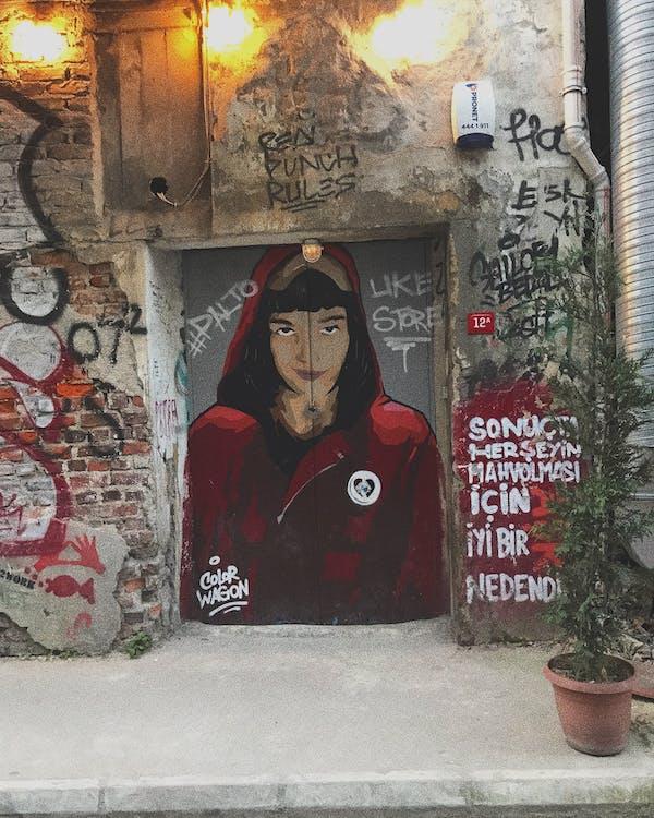 artistik, barbarlık, beton zemin