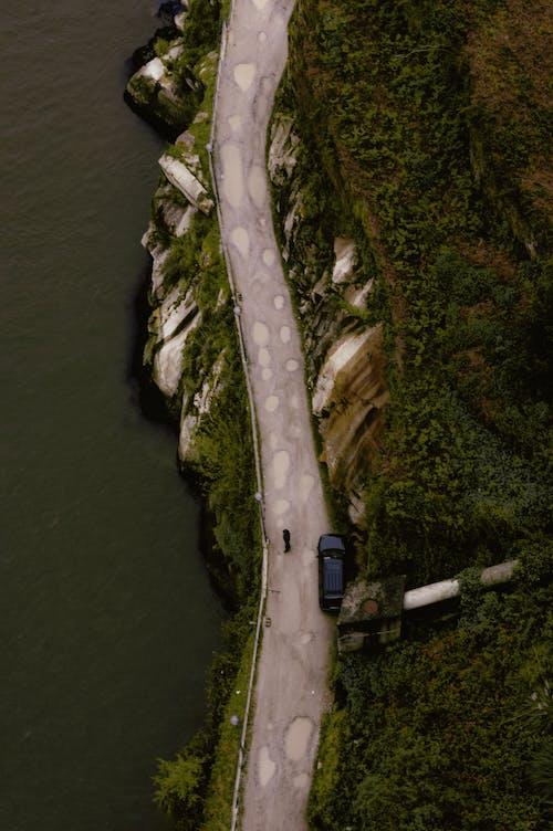 Ingyenes stockfotó drónfelvétel, fényes, festői, folyó témában