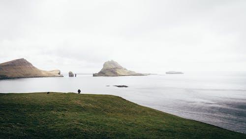 Kostenloses Stock Foto zu 4k wallpaper, atlantischer ozean, berg, dämmerung