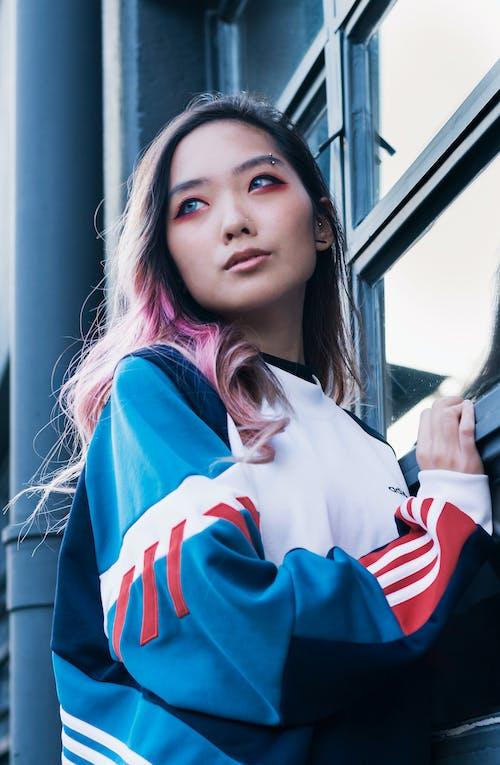 Бесплатное стоковое фото с азиатский, розовые волосы