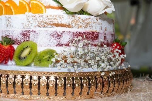 Photos gratuites de cake, Gâteau de mariage