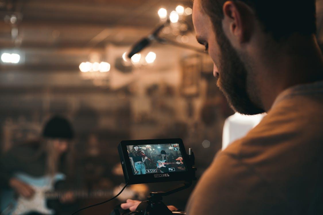 Man Recording Video
