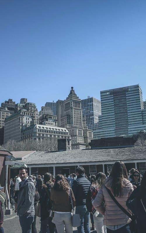 Kostnadsfri bild av amerika, horisont, new york city, New York City tapeter
