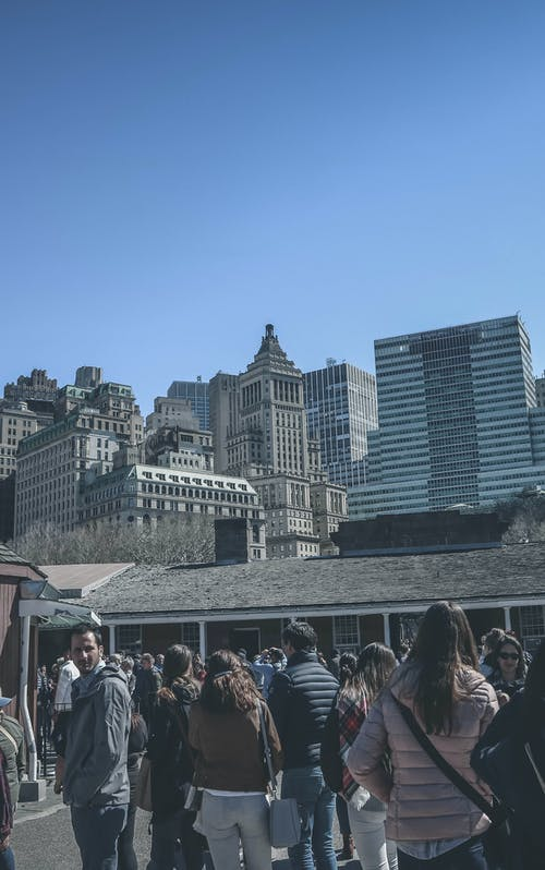 Gratis lagerfoto af amerika, cityscrapers, New york city, new york city-baggrund