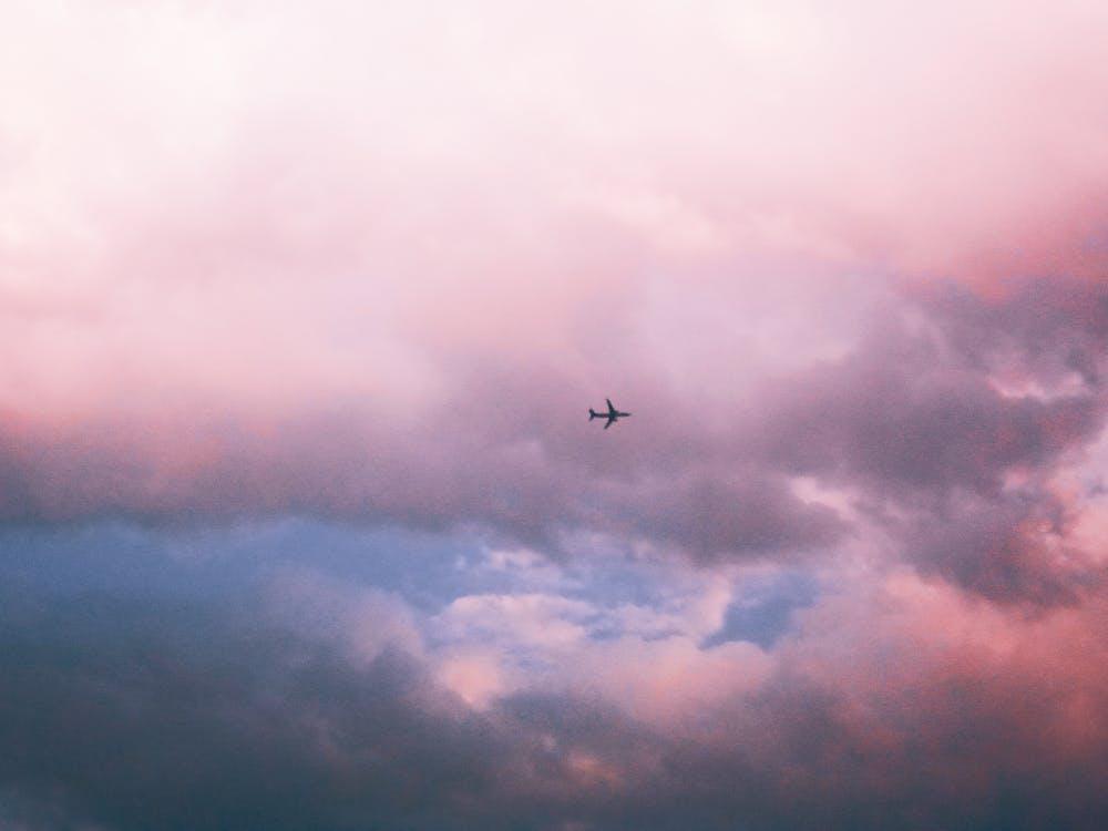 HD tapeta, lietadlá, mrak