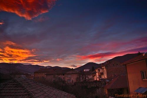 Gratis stockfoto met rode lucht, zonsopkomst