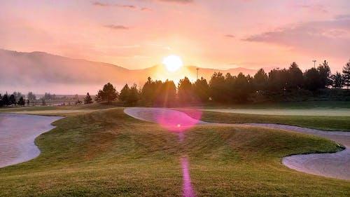 Gratis stockfoto met Lensflare, zonsopkomst