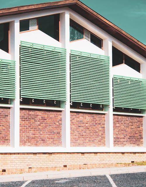 Imagine de stoc gratuită din arhitectură, arhitectură modernă, balustrade metalice, beton