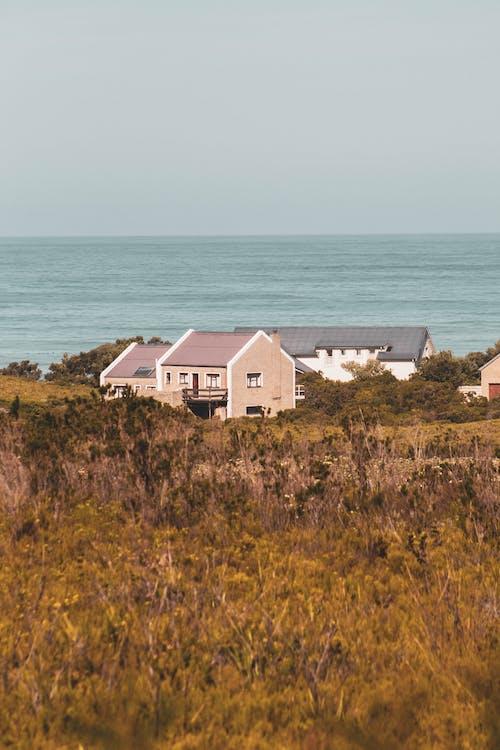 건물, 낮, 농촌의, 바다의 무료 스톡 사진