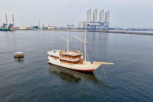 ボート, 交通手段, 反射, 川の無料の写真素材