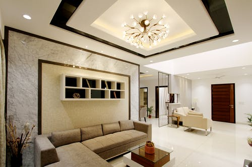 Interior Design of a Living Room