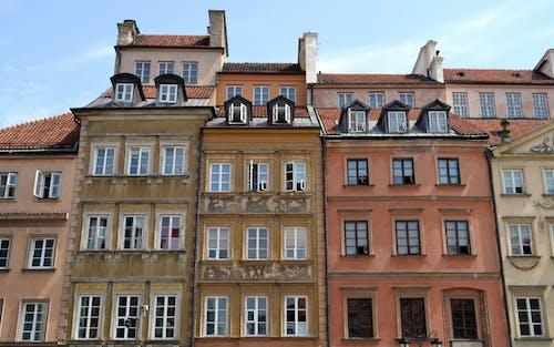 Fotobanka sbezplatnými fotkami na tému architektúra, budovy, farby, historická lokalita
