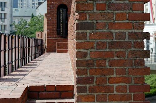 Fotobanka sbezplatnými fotkami na tému budovy, červené tehly, cestovný ruch, hrad